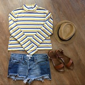 Sale 💵 3/$25 Wild fable striped crop top